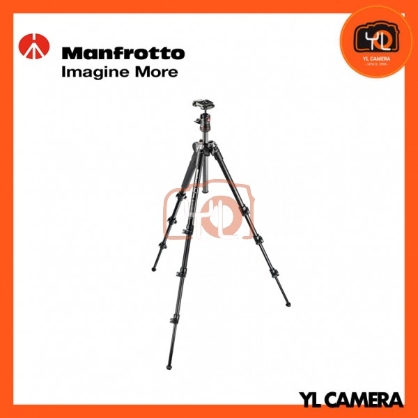 Manfrotto MKBFRA4G-BH BeFree Compact Travel Aluminum Alloy Black Tripod