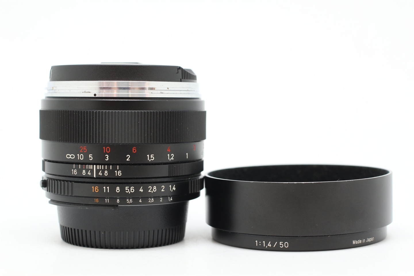 [USED-PUDU] ZEISS 50MM F1.4 Planar T* ZF.2 (NIKON MOUNT) 90%LIKE NEW CONDITION SN:15881566