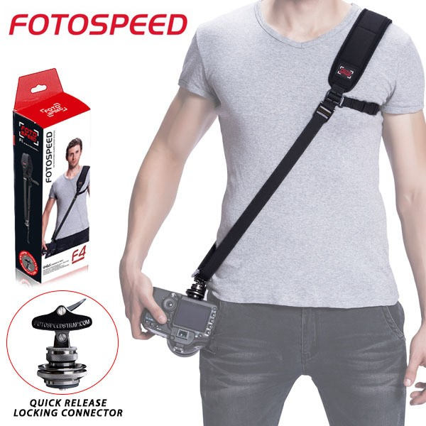 (Promotion) GGS Fotospeed Quick Release Camera Strap F4