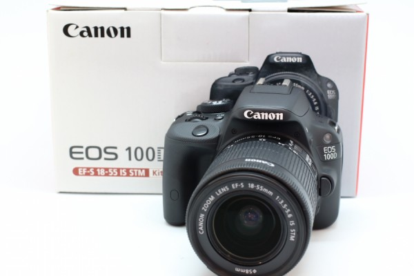 [USED-PUDU] CANON EOS 100D WITH 18-55MM F3.5-5.6 IS STM KIT SET 90%LIKE NEW CONDITION SN:078072022688
