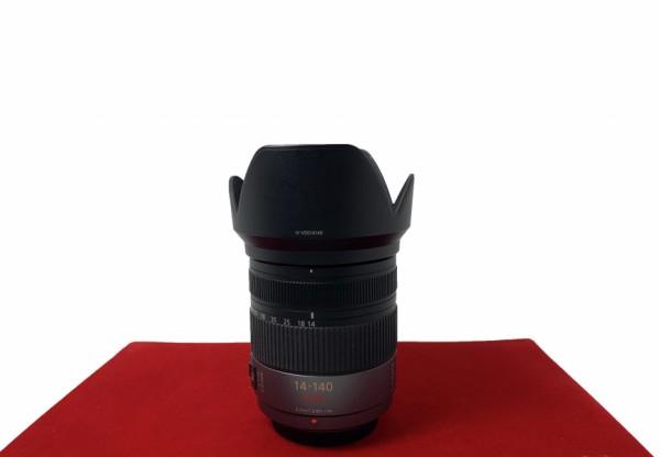 [USED-PJ33] Panasonic 14-140MM F4-5.8 HD G Vario Mega O.I.S, 95% Like New Condition (S/N:XT9SD002873)