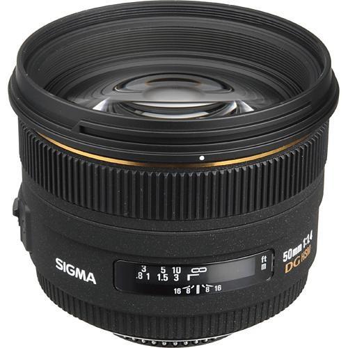 Sigma 50mm F1.4 EX DG HSM Lens Nikon