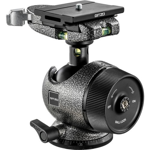 (MCO Offer) Gitzo GH3780QD Center Ball Head with Bubble Sphere and QR Plate