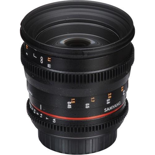Samyang 50mm T1.5 VDSLR AS UMC Lens for Sony Alpha Mount
