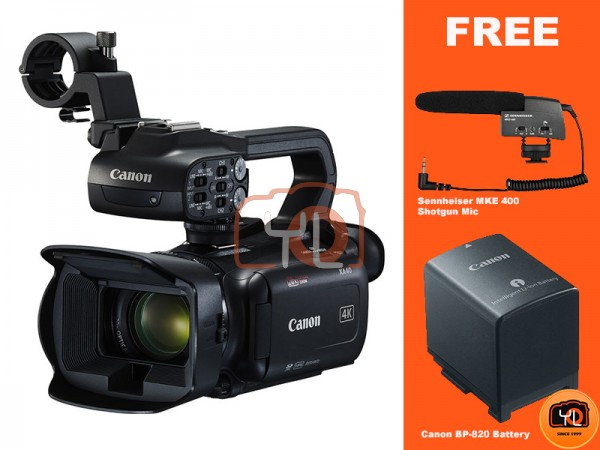Canon DM-XA40 Professional UHD 4K Camcorder