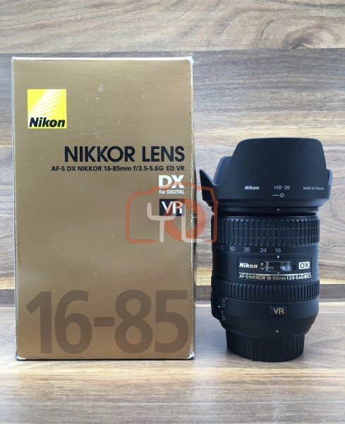 [USED @ YL LOW YAT]-Nikon AF-S 16-85mm F/3.5-5.6G ED VR DX Lens,95% Condition Like New,S/N:22112324