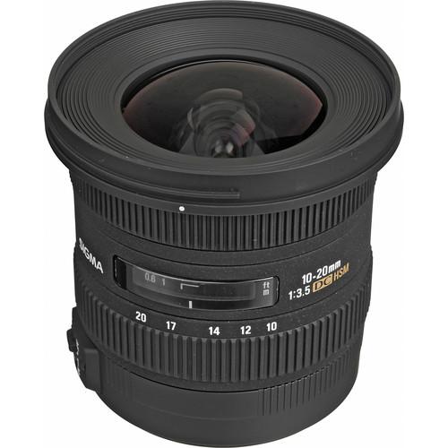 (Promotion) Sigma 10-20mm F3.5 EX DC HSM Lens (Sony)