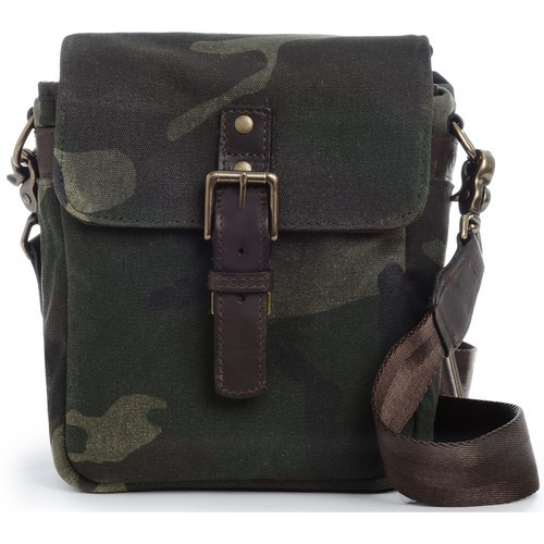 ONA Bond Street Waxed Canvas Camera Bag (Camouflage)
