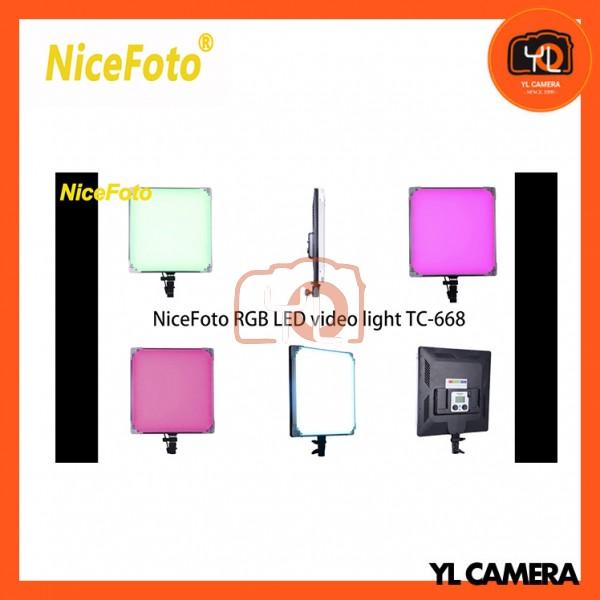 NiceFoto TC-688 RGBW LED Video Light