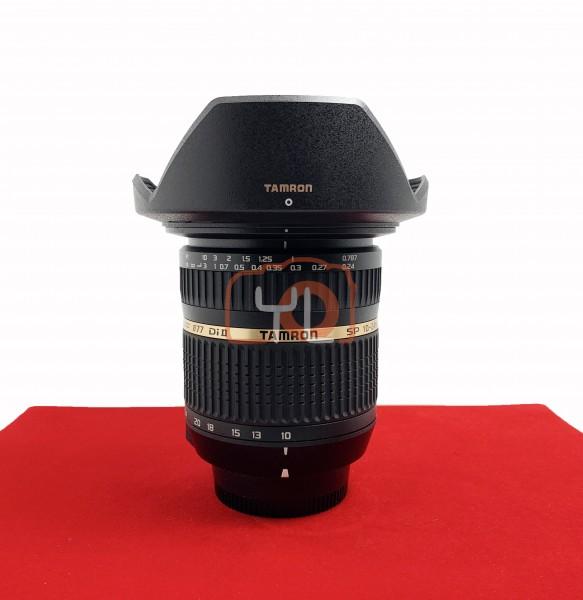 [USED-PJ33] Tamron 10-24mm F3.5-4.5 SP DI II (Nikon), 95% Like New Condition (S/N:34118)
