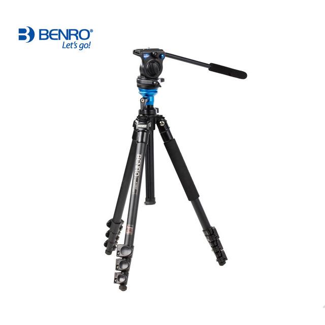 Benro A1573FS2 S2 Video Head and AL Flip Lock Legs Kit