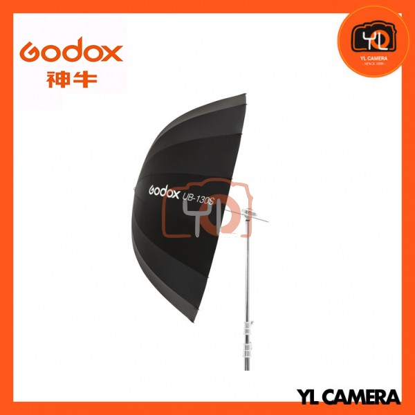 (New Product) Godox UB-130S Parabolic Umbrella (Silver)