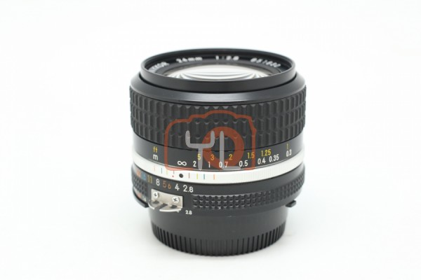 [USED-PUDU] Nikon 24MM F2.8 AIS 95%LIKE NEW CONDITION SN:851830