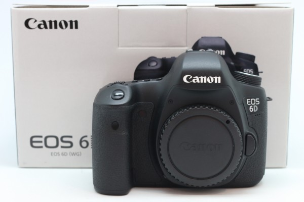 [USED-PUDU] CANON EOS 6D CAMERA BODY 95%LIKE NEW CONDITION  SN:278021002380