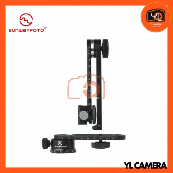 Sunwayfoto CR-30C Compact Panoramic Head with Clamp