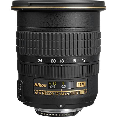 Nikon DX 12-24mm F4G AF-S