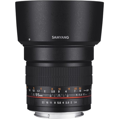 Samyang 85mm F1.4 Aspherical IF Lens for Nikon F with AE Chip