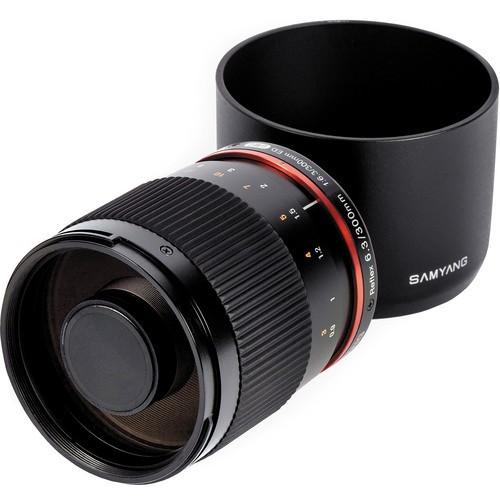 Samyang Reflex 300mm F6.3 UMC CS Lens for Nikon F (Black)
