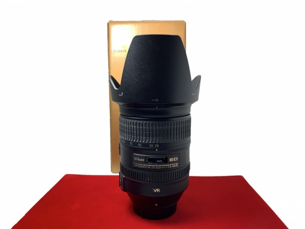 [USED-PJ33] Nikon 28-300MM F3.5-5.6 G VR AFS ED, 90% Like New Condition (S/N:52108568)