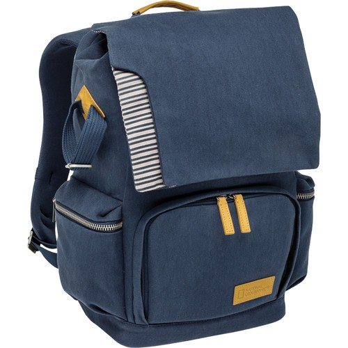 National Geographic NG MC 5350 Mediterranean Series Medium Backpack (Blue and Ochre)