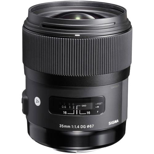 Sigma 35mm F1.4 DG HSM Art Lens (Nikon)