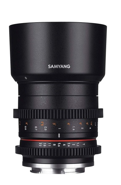 Samyang 50mm T1.3 Compact High-Speed Cine Lens for Fujifilm X