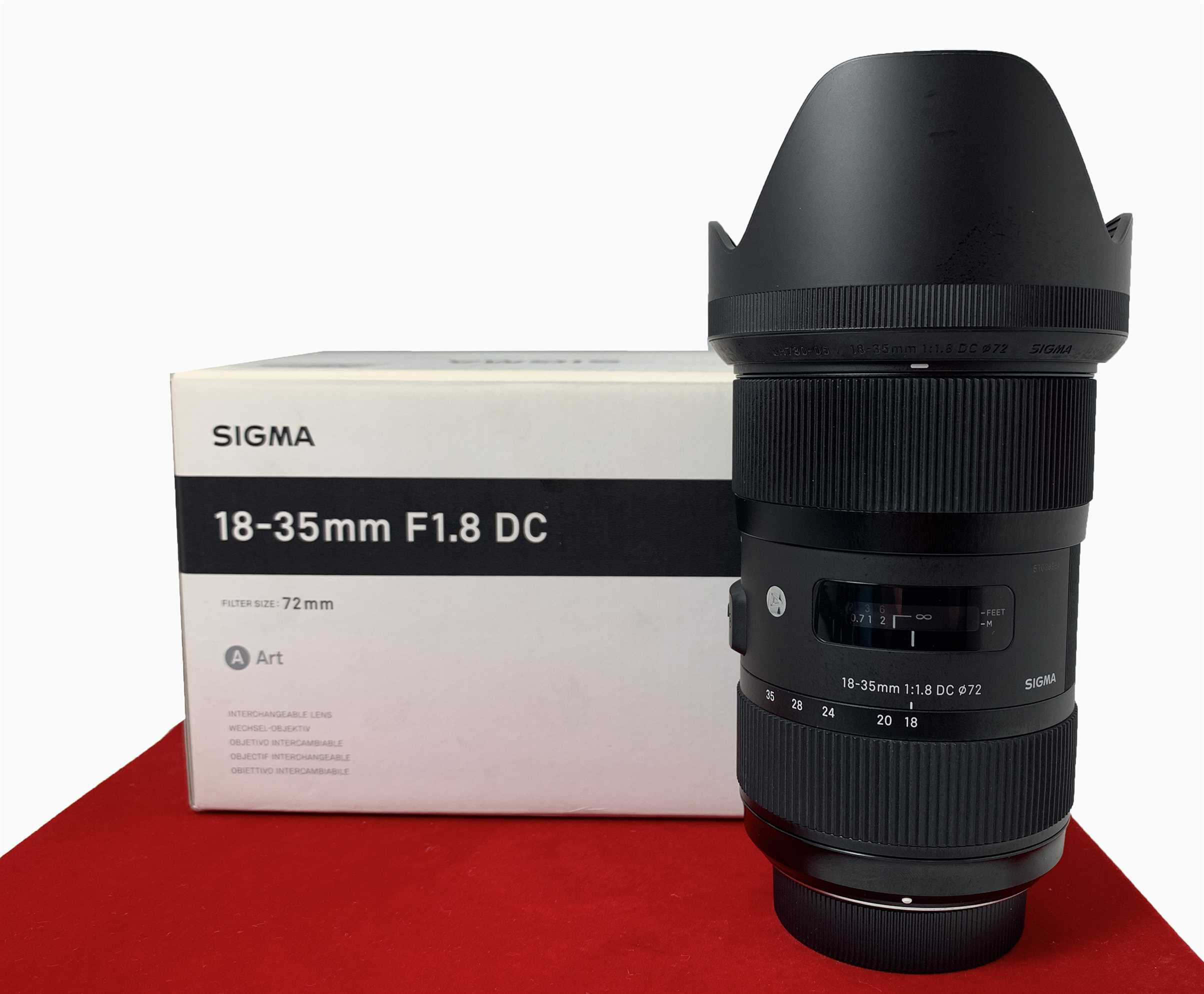 [USED-PJ33] Sigma 18-35MM F1.8 DC ART Lens For (Nikon Mount), 95% Like New Condition (S/N 51038984)