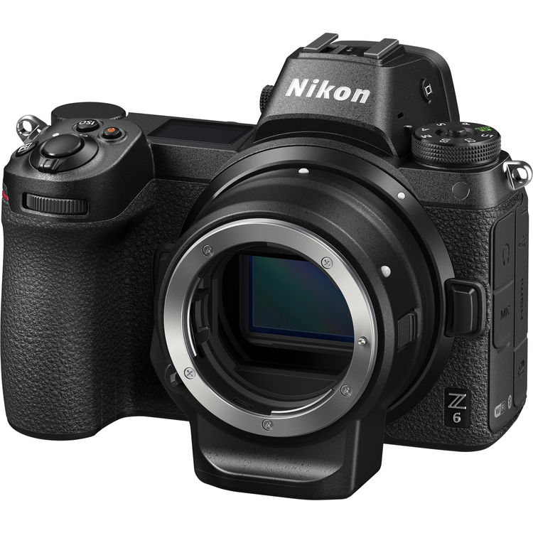 (Promotion) Nikon Z 6 + FTZ Lens Mount Adapter [Free 32GB XQD Card & XQD Card Reader & Camera Bag] (Online Redemption 1 Year Extended Warranty)