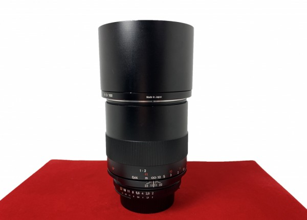 [USED-PJ33] Zeiss 100MM F2 Makro-Plannar ZF.2 (Nikon), 95% Like New Condition (S/N:15822378)