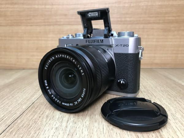 [USED @ YL LOW YAT]-Fujifilm X-T20 Camera + XC 16-50mm 3.5-5.6 OIS II [ silver ],90% Condition Like New,S/N:7AQ22457