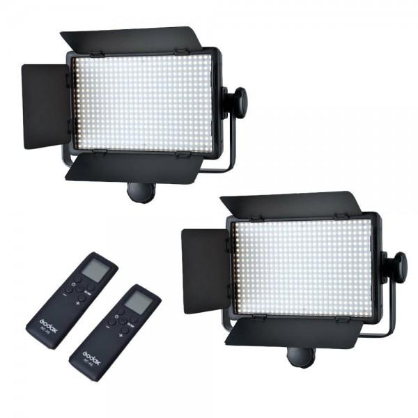 Godox LED1000C Bi-Color LED Video Light 2 Ligth Only