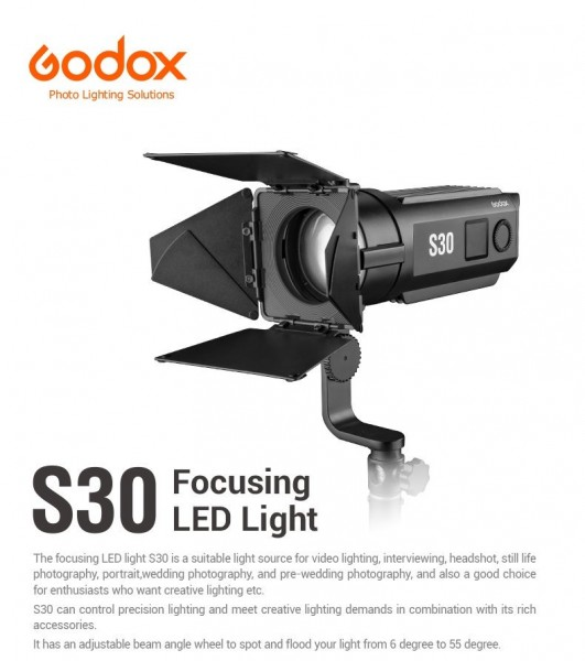 Godox S30 Focusing LED Light