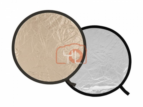 Lastolite Collapsible Reflector 95cm Sunlite/Soft Silver