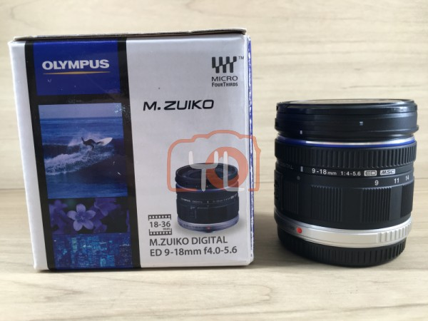 [USED @ YL LOW YAT]-Olympus M.Zuiko ED 9-18mm F4.0-5.6 Lens,95% Condition Like New,S/N:AAJ271976