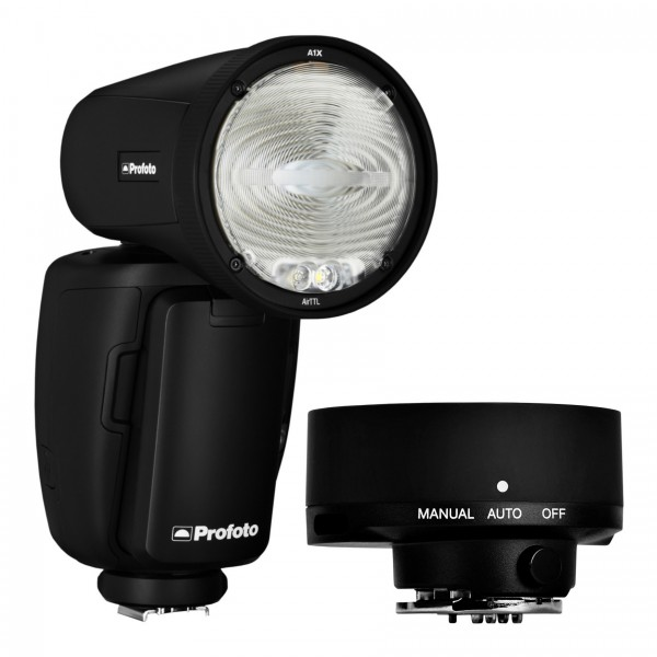 Profoto Off-camera Kit (Fujifilm) Featuring A1X AirTTL Remote and On-camera Flash with Profoto Connect Button-free Trigger
