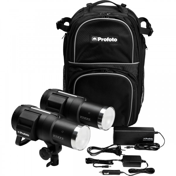 (Promotion) Profoto B1 500 Air Battery-Powered 2-Light Location Kit