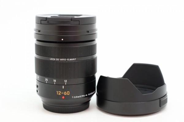 [USED-PUDU] Panasonic 12-60MM F2.8-4 DG OIS Vario Elmarit ASPH 98%LIKE NEW CONDITION SN:XD8AC101735