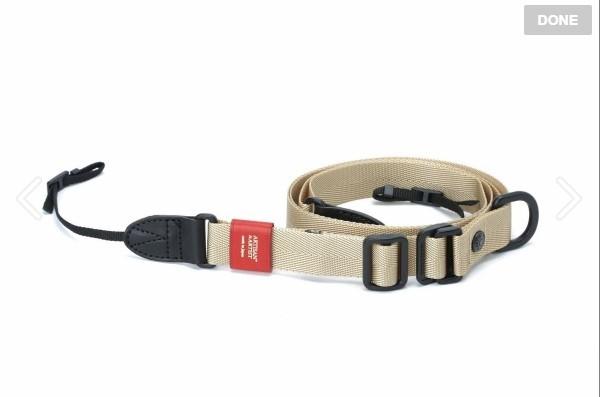 Artisan & Artist ACAM-E25S Easy Slider Series Camera Strap (Beige)