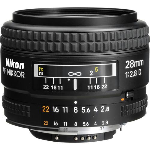 Nikon 28mm F2.8 AF D
