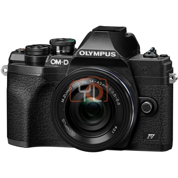 Olympus OM-D E-M10 Mark IV + M.Zuiko 14-42mm EZ – Black
