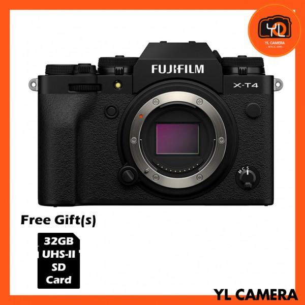Fujifilm X-T4 - Black