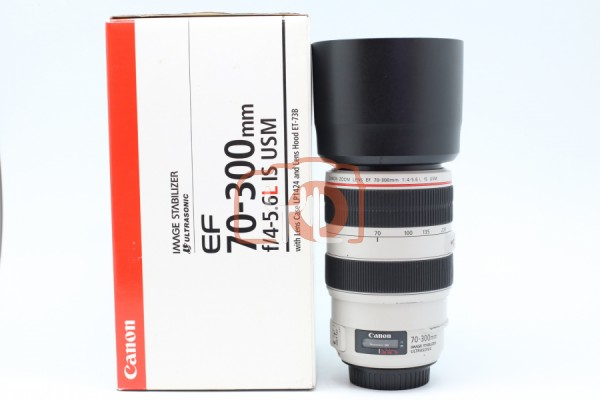 [USED-PUDU] Canon 70-300MM F4-5.6 L EF IS USM 85%LIKE NEW CONDITION SN:7610000232