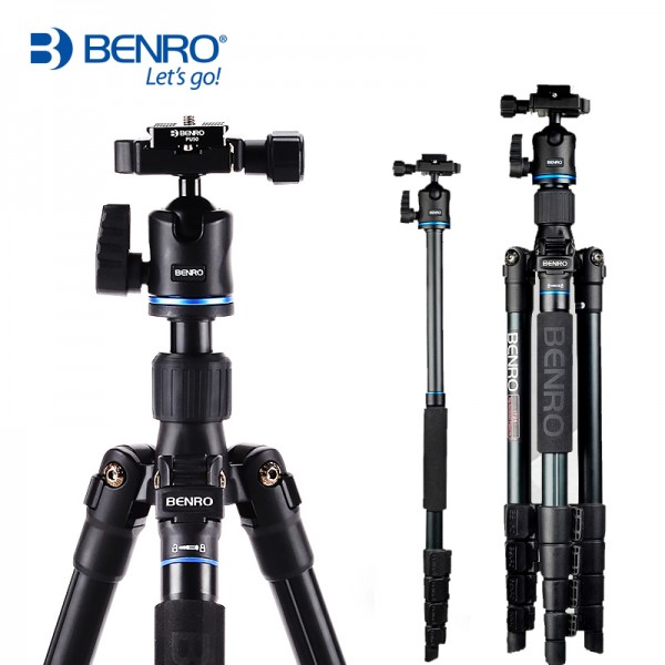 Benro IT25 Aluminum Travel Tripod with Ball Head