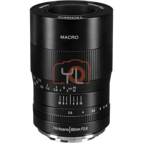 7artisans Photoelectric 60mm f/2.8 Macro Lens for Canon EF-M
