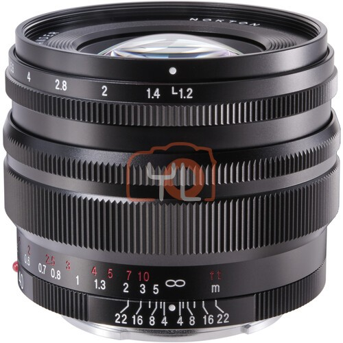 Voigtlander Nokton 40mm F1.2 Aspherical SE Lens (For Sony E)