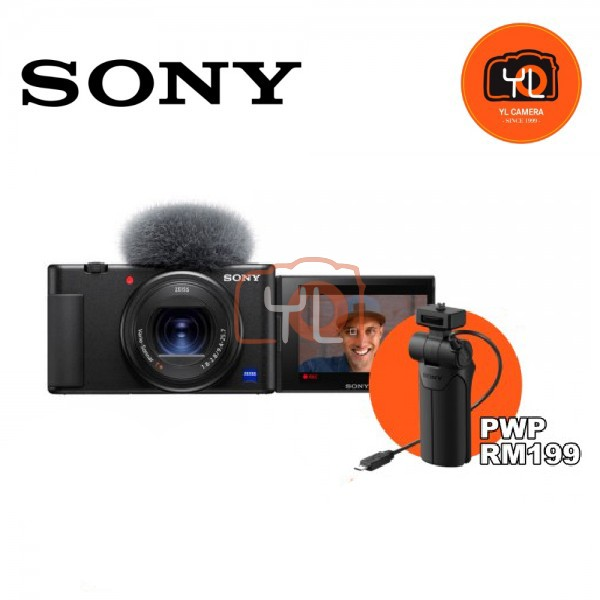 Sony Z-V1 Vlog Digtal Camera W/ VCT-SGR1 Handgrip