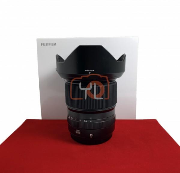 [USED-PJ33] Fujifilm 23MM F4 R GF LM WR, 95% Like New Condition (S/N:76A03081)