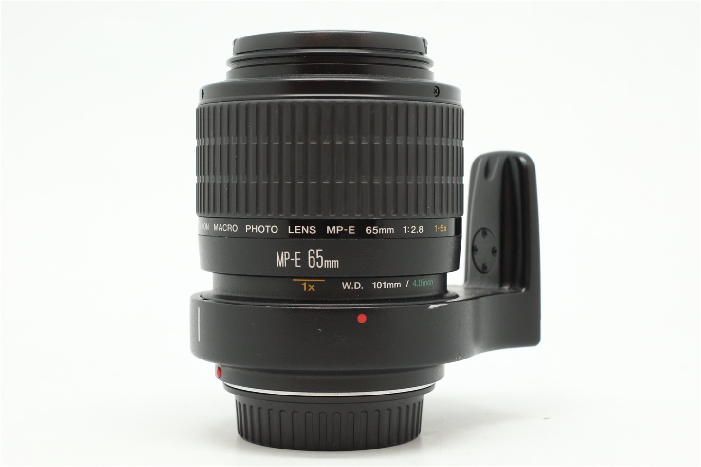 [USED-PUDU] CANON MP-E 65MM F2.8 MACRO LENS 90%LIKE NEW CONDITION SN:122990