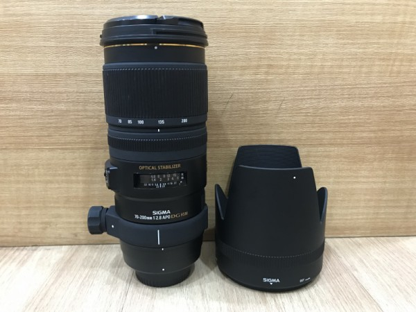 (USED YL LOW YAT)-Sigma 70-200mm F2.8 APO DG HSM OS Lens For Nikon,90% Condition Like New,S/N:113212068