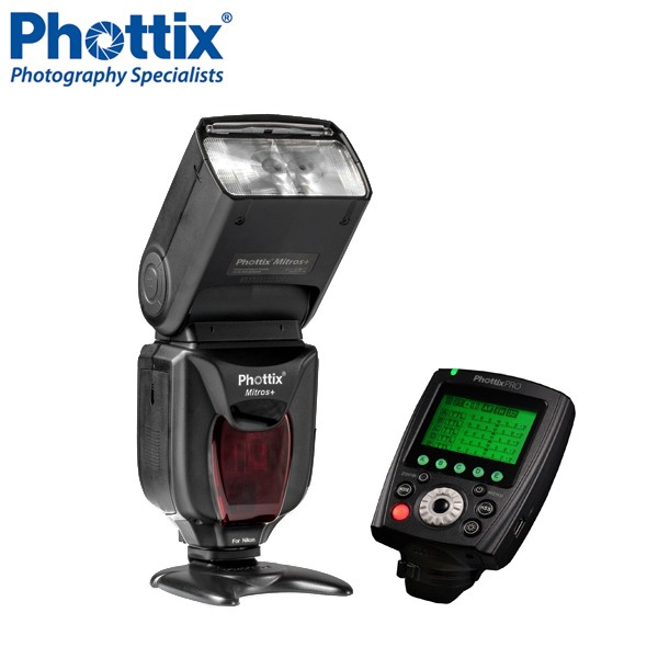 Phottix Mitros+ TTL Flash with Odin II TTL  Trigger Kit for Canon